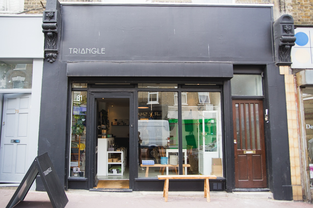 Triangle - concept store on Chatsworth Road Homerton