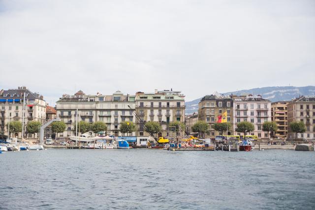 a boat tour in Geneva