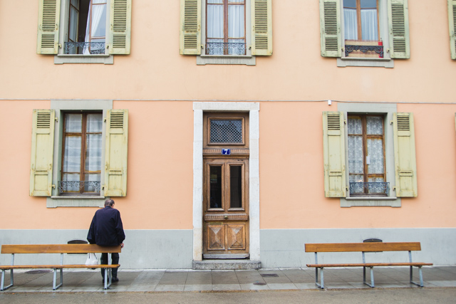 Architecture in Geneva, Switzerland.