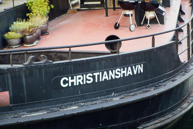 The super chilled Christianshavn canal in Copenhagen
