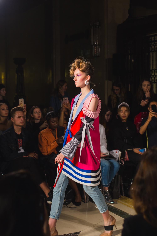 Leaf Xia London Fashion Week