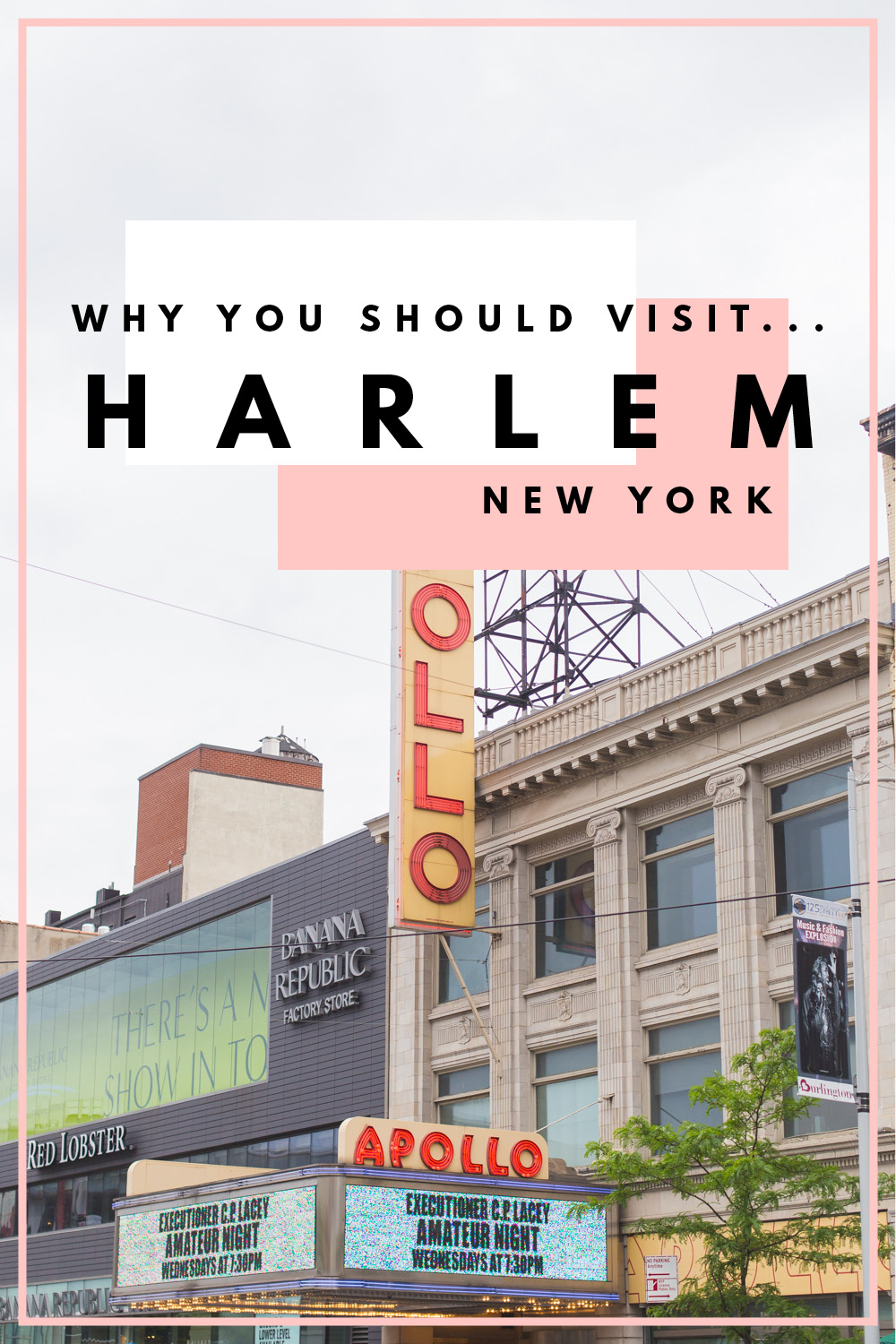 Ever wanted to visit Harlem in New York? I'm championing venturing away from the typical parts of Manhattan & exploring a place rich in culture and history.