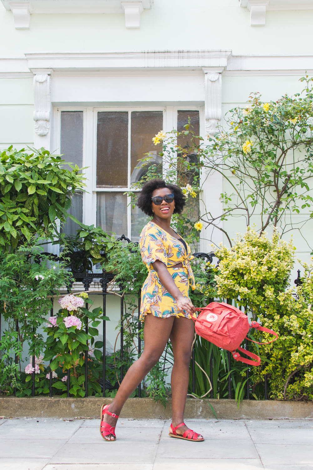 Looking for some heatwave style inspiration? Fashion blogger Kristabel Plummer shares her tips and what she's wearing for the 30 degree temperatures in London, including Boden, ASOS and Grass Fields.